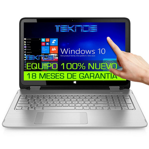 laptop hp envy x360 core i7 7ma gen+16gb+1tb+ touch full hd