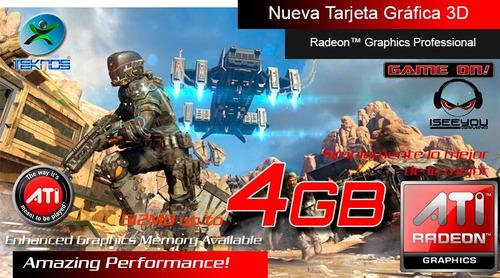 laptop hp envy x360 ryzen+8gb+1tb+ touch fhd+ tarjeta video