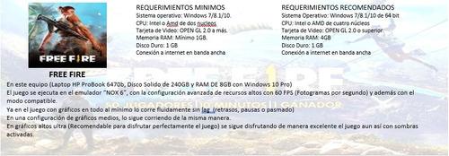 laptop hp gamer core i5 8gb ssd 240gb + hdmi barata