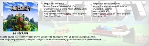 laptop hp gamer core i5 video hd 8gb ssd 240gb barata.