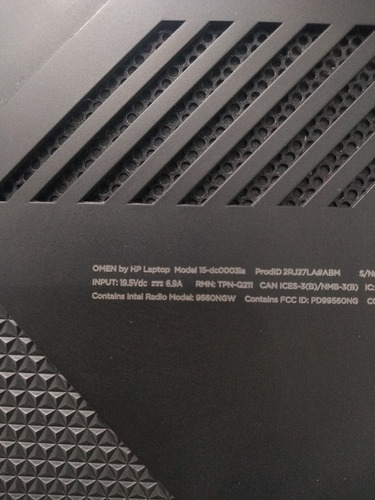 laptop hp gaming omen 15 dc1003la
