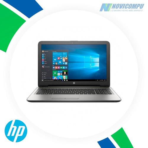 laptop hp i3 6100+ 1tb disco+ dvdwr+ bt+ webcam
