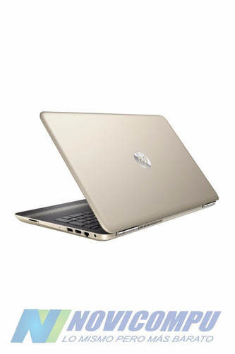 laptop hp i5 6200+1tb+8gb+dvdwr+bt+gold+w10
