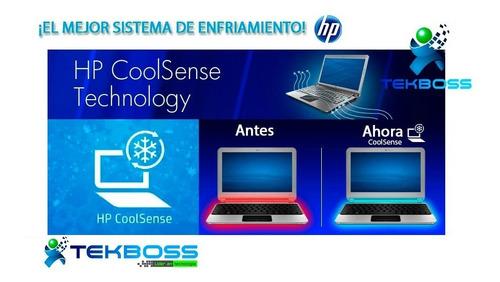 laptop hp intel turbo 2.60ghz+4gb+ disc sólido+tec antiderr