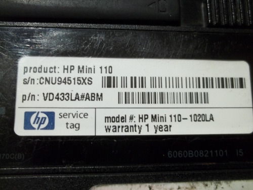 laptop hp mini 110