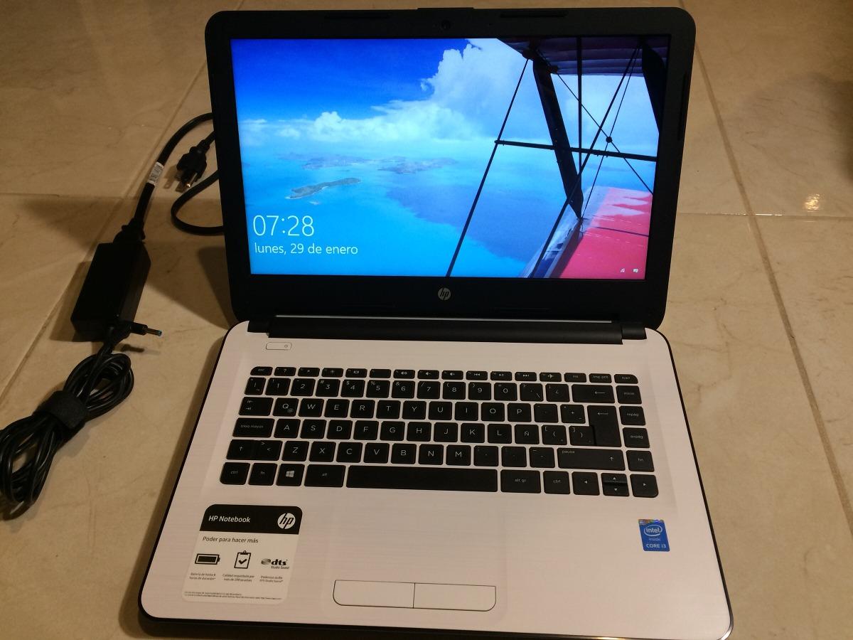 Laptop Hp Notebook 14 Am009la Excelentes Condiciones 8 998 00