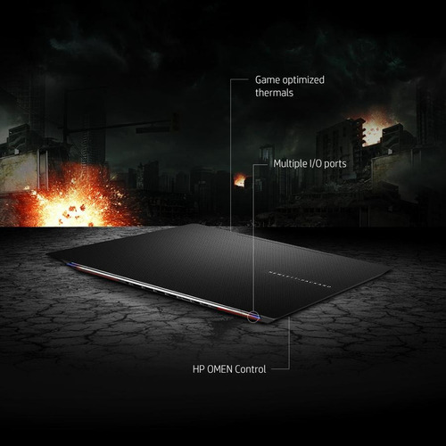 laptop hp omen gamer 15-5010nr i7 táctil ips impecable