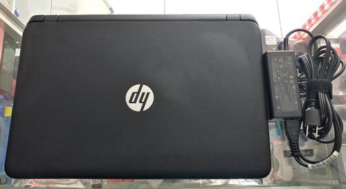 laptop hp pantalla touch / quad-core / radeon r5 graphics