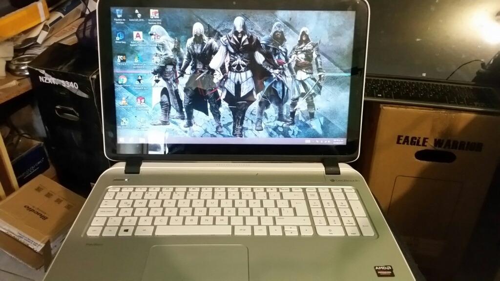 Laptop Hp Pavilion 15 12 Gb Ram 1tb Hdd Touch Amd A10 Cargando Zoom