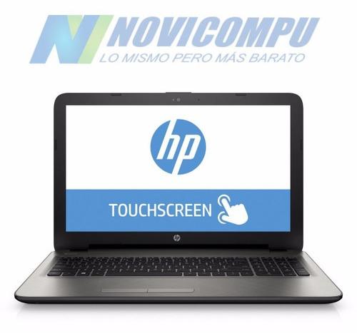 laptop hp pavilion 15-ay0009 i3 6100u 6gb 1tb 15.6  touch dv