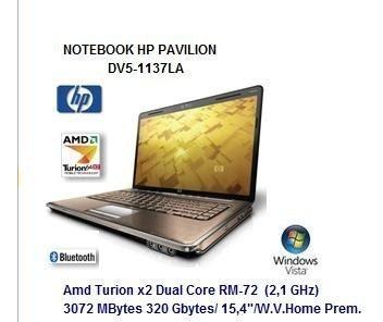 laptop hp pavilion dv5-1137la refacciones deshueso