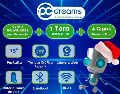laptop hp pavilion intel core i3 1tb 4gb nueva oferta...!!!