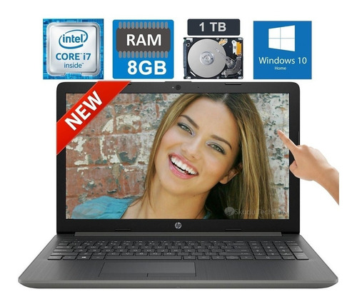 laptop hp pavilion intel core i7 touch screen 8gb 1tb