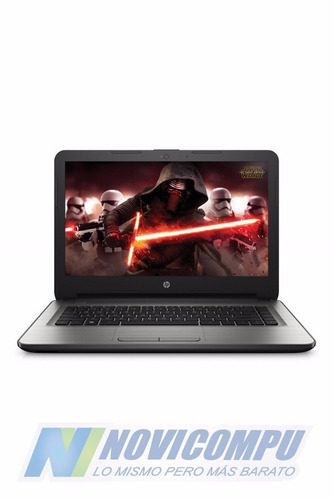 laptop hp star wars 14 pul espanol+quad core+4gb+radeon r2