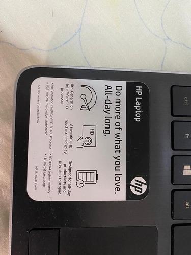 laptop hp tactil
