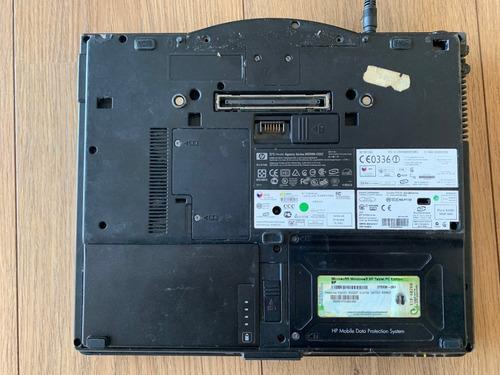 laptop hp tc4200 w7 tablet - funciona perfeitam. sem bat x9w