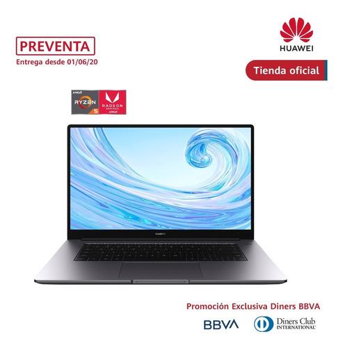 laptop huawei matebook d15, ssd256 gb + 1tb dd, 8gb ram