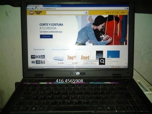 laptop intel core 2 duo 2gb ram 160 ddd. excelente.