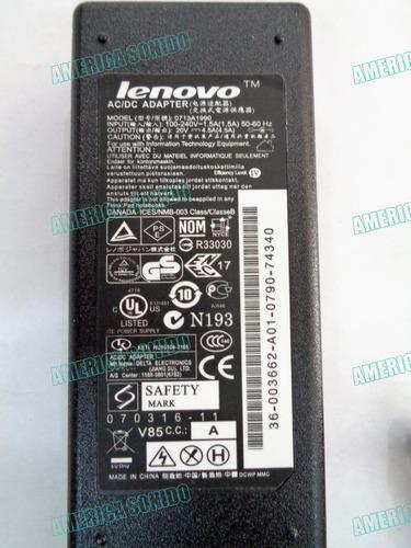 laptop lenovo cargador