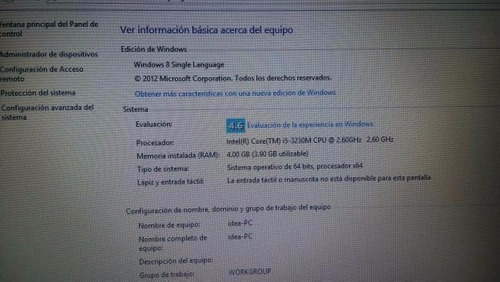 laptop lenovo core