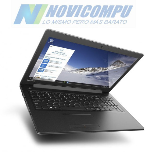 laptop lenovo i3-6100u +1tb +6gb +15.6  touch +dvd-rw +win10