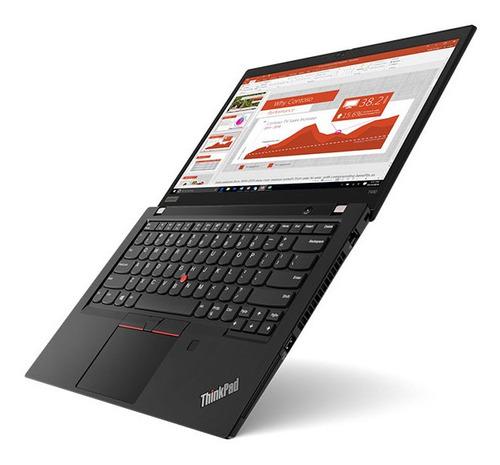 laptop lenovo i5 8gb 256gb ssd thinkpad t490 14'' black