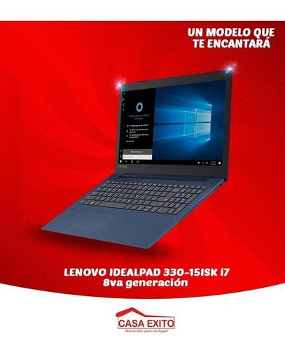 laptop lenovo idealpad,  330-15isk i7, 8va generación - 871
