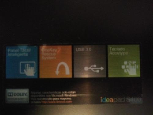 laptop lenovo ideapad pocouso,con lic windows8.1pro negociab