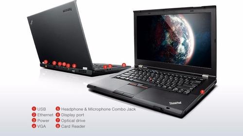 laptop lenovo thinkpad t430s intel® core i5-3320m(2,60 ghz)