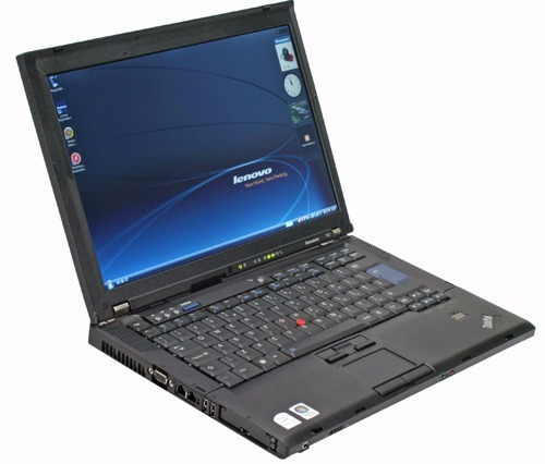 laptop lenovo thinkpad t61, c2 dúo a 2.0ghz, ram 2gb, hdd160