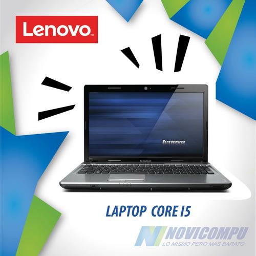 laptop lenovo usada core i5, 4gb en ram, 120gb a 320gb
