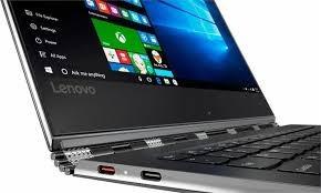 laptop lenovo yoga 910 core i7-7500u 256ssd 8gb touch