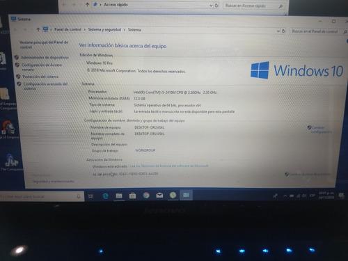 laptop lenovo z470