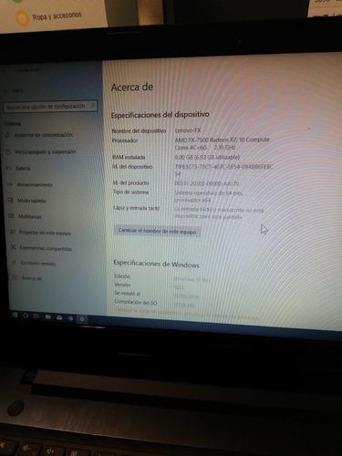 laptop lenovo z50-75 amd fx 7500