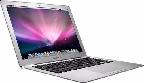 laptop macbook air intel i5 128gbs 4gbs (2.7ghz turbo) eddd