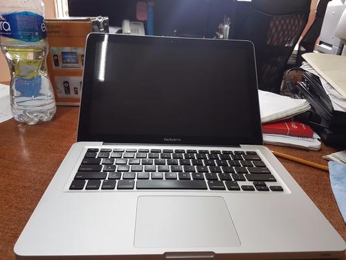 laptop macbookpro a1278 2012 corei5 4gb ram  500gb en disco