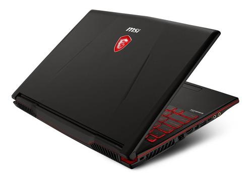 laptop msi 15.6 core i7 8va ge 16gb 1tb 256gb ssd 4gb 1050ti