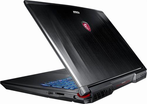 laptop - msi 17.3 - core i7 - vidia geforce gtx 1070 -negro