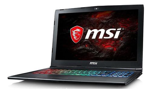 laptop msi gf62 7re, i7-7700hq, 16gb, 1tb, 15.6 , 4gb video