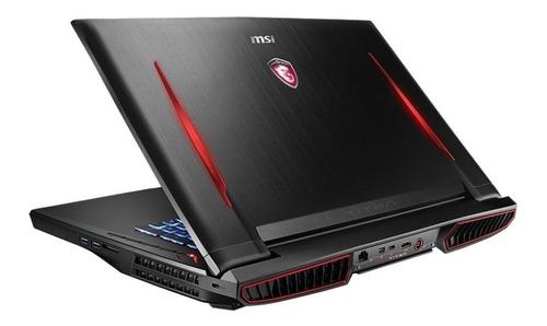 laptop msi gt73vr titan pro 4k i7-6820hk 64gb vd8gb