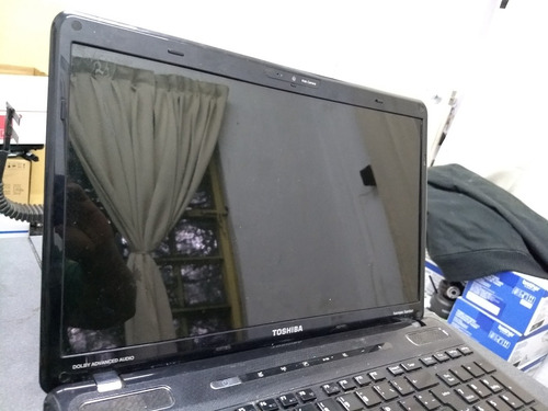 laptop notebook toshiba a655 sp6002m deshueso pantalla carca