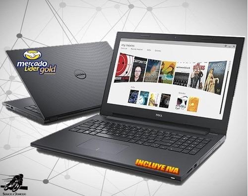 laptop portatil dell core i3  10ma gen 4gb 1tb led 14, i5/i7