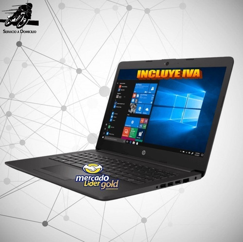 laptop portátil hp core i3 8va gen 4gb 500gb led 14, i5/i7
