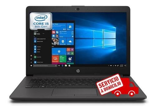 laptop portátil hp core i5 8va gen 8gb 500 gb led 14, i3/i7