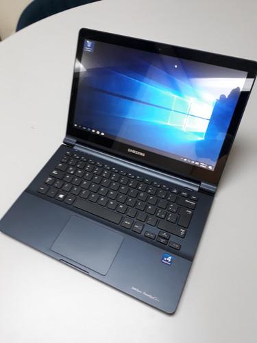 laptop samsung 13.3 tactil quad core 4gb disco estado solido