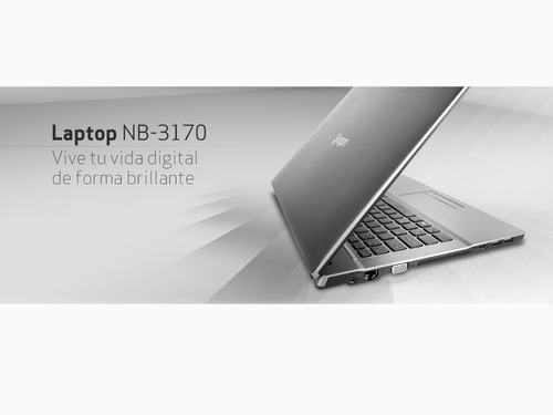 laptop siragon nb - 3170 como nueva