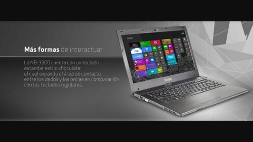 laptop siragon nb-3300 4gb ram (negociable)