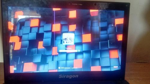 laptop síragon sl-6120 batería no agarra carga