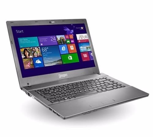 laptop sirgon nb3300 intel core i3  / 8gb ram / 500gb hdd