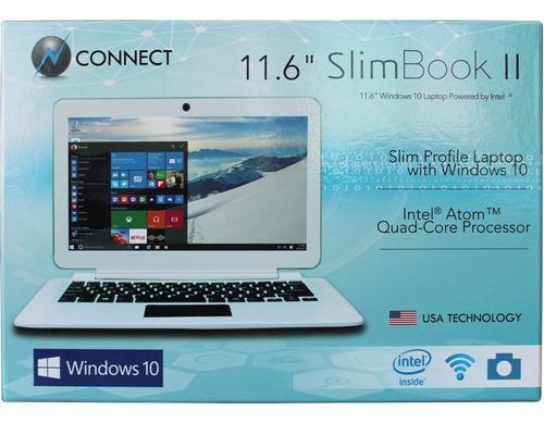 laptop slim book connect 11.6